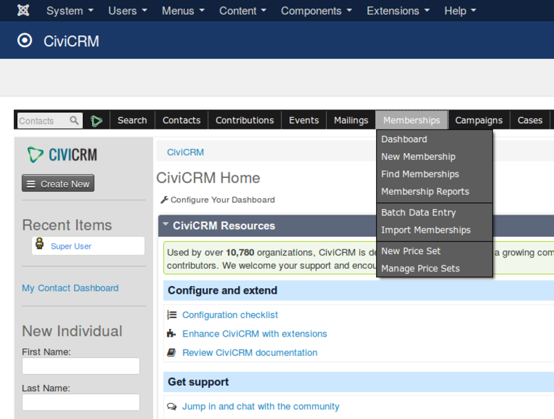 CiviCRM has numerous capabilities for managing membership, renewals and payments.